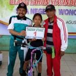 Jalan Sehat Sewindu SMAN 1 Wonotunggal