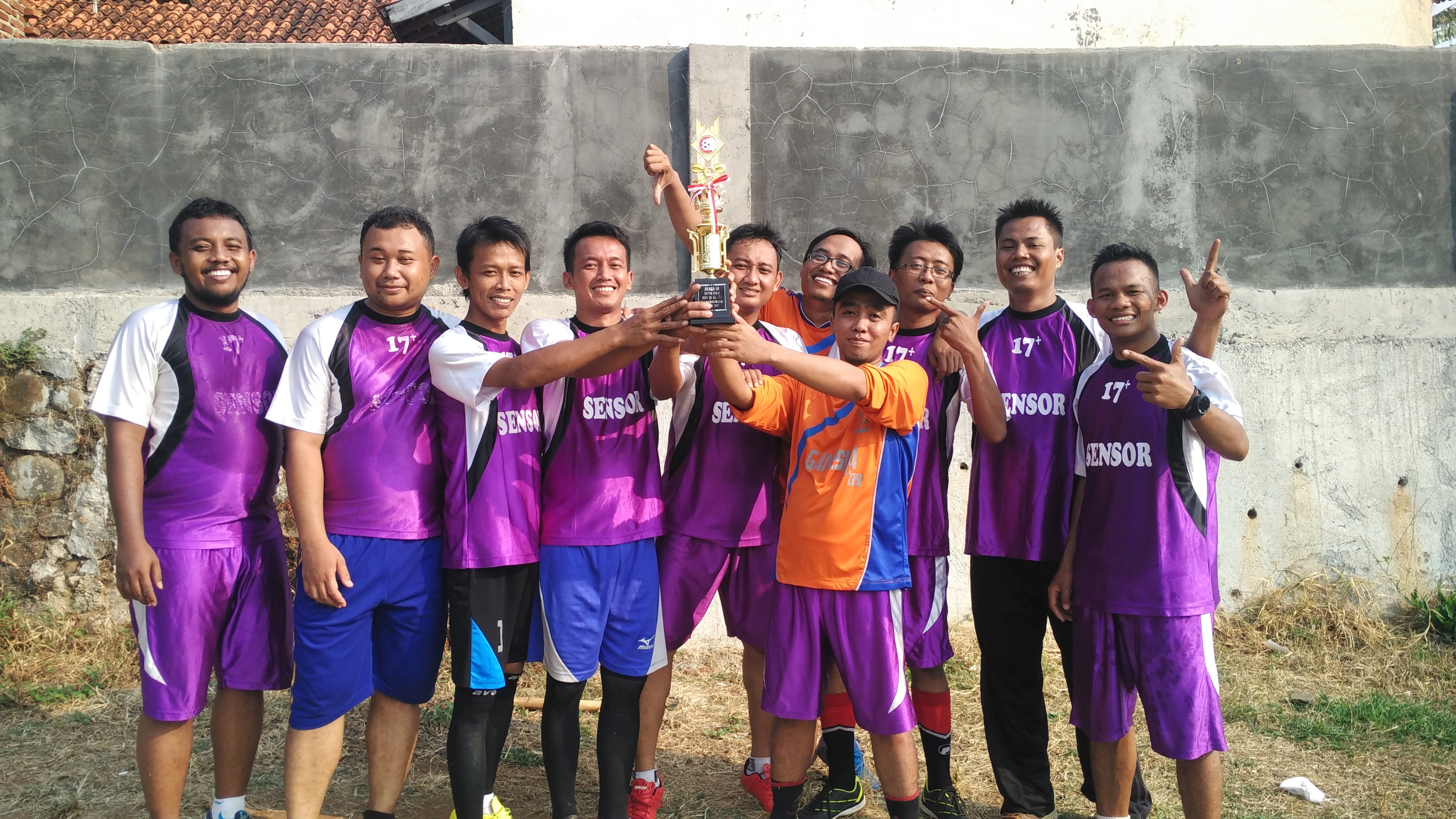Debut Pertama, SMANGGAL FC Rebut Juara 3